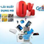 MB triển khai chương trình trả góp lãi suất 0% với thẻ tín dụng MB