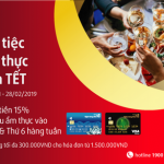 Đón Tết tưng bừng ưu đãi cùng thẻ tín dụng Bản Việt