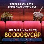 Xem phim chỉ với 80.000 VNĐ/cặp cùng với VietABank