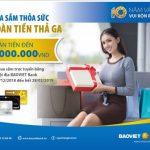 Hoàn tiền đến 1 triệu đồng cho chủ thẻ BaoViet Bank