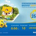 Thêm ưu đãi cho gói vay mua nhà BaoViet Happy House
