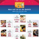 Năm mới ưu đãi shock cùng thẻ quốc tế Eximbank JCB