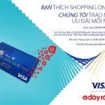 Chi tiêu bằng thẻ Quốc Tế Eximbank Visa nhận ngay ưu đãi tại Adayroi