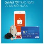 Nhận ngay ưu đãi tại Shopee cùng thẻ quốc tế Eximbank Visa