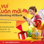 Mừng năm mới, HDBank hoàn 50% tiền điện thoại khi giao dịch qua eBanking