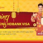 Shopping thỏa thích cùng Shopee và HDBank Visa