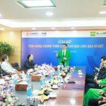 Đi taxi, chi Ví Việt - LienVietPostBank hợp tác với Mai Linh