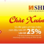 Chào đón năm mới và nhận ưu đãi lớn khi mua bảo hiểm nhân thọ từ SHB