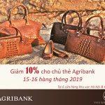 Thẻ Agribank - Thỏa sức mua sắm