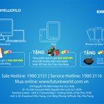Đặc quyền ưu đãi tại FutureWorld dành cho chủ thẻ tín dụng Eximbank