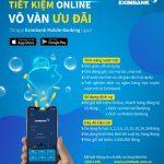 Tiết kiệm online - Vô vàn ưu đãi cùng Internet Banking và Mobile Banking của Eximbank
