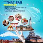 Khám phá món ăn, nhận ngay Voucher du lịch Nhật Bản cùng thẻ quốc tế Eximbank JCB