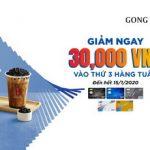 Giảm ngay 30,000 VNĐ tại Gongcha cho chủ thẻ MB Visa