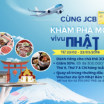 Cùng Nam A Bank JCB khám phá món Á và vi vu Nhật Bản