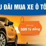 Gói ưu đãi vay mua xe ô tô cùng Sacombank