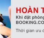 Hoàn tiền 6% khi đặt phòng tại Booking.com với thẻ Techcombank Visa