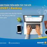 4 bước thanh toán tiền điện với BaoViet i-Banking