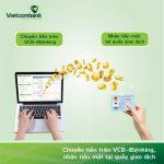 Vietcombank triển khai tính năng chuyển tiền cho người hưởng nhận tiền mặt qua tài khoản trên VCB - iB@nking