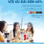 Ưu đãi đặc biệt dành cho thực khách là chủ thẻ VietinBank