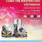 Tân Xuân khai lộc cùng thẻ MasterCard VietinBank