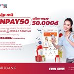 Giảm ngay 50.000đ khi thanh toán bằng QR Pay trên Agribank E-Mobile Banking