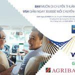 Cùng thẻ Agribank Visa mang yêu thương tới một nửa thế giới