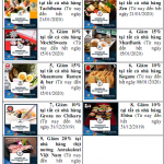 Thưởng thức ẩm thực Nhật Bản cùng thẻ Agribank JCB
