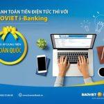 Thanh toán tiền điện trên toàn quốc với BaoViet i-Banking