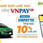 Thanh toán Taxi Mai Linh nhanh chóng qua IVB Mobile Banking