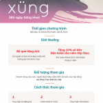 Chương trình Xung - 365 ngày sống khỏe cùng Kienlongbank
