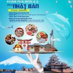Cùng Kienlongbank JCB - Khám phá món Á và Vi vu Nhật Bản