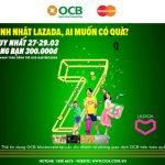 Cùng OCB Mastercard khám phá ưu đãi tại Lazada