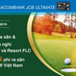 Ưu đãi golf với thẻ Sacombank JCB Ultimate