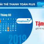 Mobifone và Vinaphone tặng 20% khi nạp tiền điện thoại với thẻ Sacombank Plus
