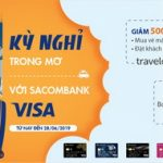 Kỳ nghỉ trong mơ với Sacombank Visa