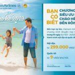 Chào hè 2019 và các chương trình khuyến mãi hấp dẫn của Vietnam Airlines dành cho thẻ SaiGonBank