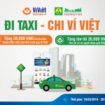 Đi taxi - Chi Ví Việt