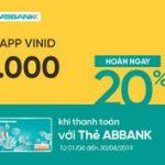 365 ngày vui với VinID cùng thẻ ABBank