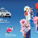 Rước Mazda CX5 về nhà với chương trình Bốn mùa rực rỡ, thẻ chở niềm vui của BIDV