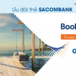 Booking.com giảm 10% giá phòng khách sạn với thẻ Sacombank Visa