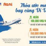 Thỏa ước mơ bay cùng Ví Việt