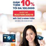 Ưu đãi tại Lazada khi thanh toán bằng thẻ Quốc tế Eximbank Mastercard