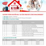Chương trình khuyến mại An tâm trọn đời cùng Kienlongbank