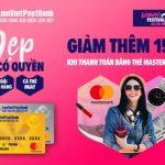 Lazada's Woman Festival cho thẻ LienVietPostBank MasterCard