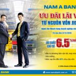 Nam A Bank ưu đãi lãi vay từ 6.5%/năm cho doanh nghiệp vừa và nhỏ