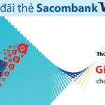 Adayroi giảm 50.000 VND cho thẻ Sacombank Visa