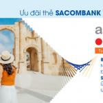 Agoda giảm đến 19% với thẻ Sacombank Visa