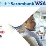 Grab giảm 30.000 VND cho thẻ Sacombank Visa