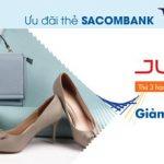 Juno giảm 30% cho thẻ Sacombank Visa