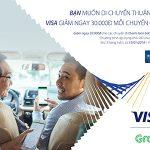 Giảm ngày 30.000đ cho mỗi chuyến Grab dành cho thẻ Shinhan Bank